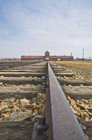 Extermination camp, Auschwitz Birkenau photo
