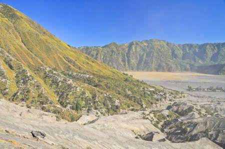 tengger: Mount Batok volcanoes in Bromo Tengger Semeru National Park, East Java, Indonesia.