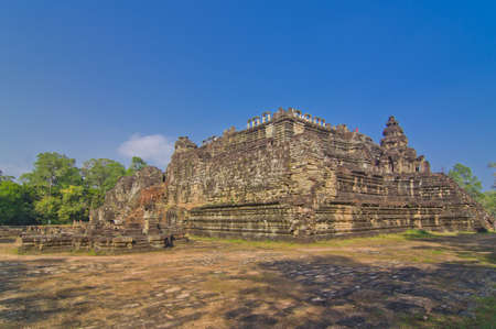 Bayon Temple at Angkor Thom, Angkor, Cambodia photo