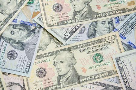 dolar: dólares, dinero de fondo Foto de archivo