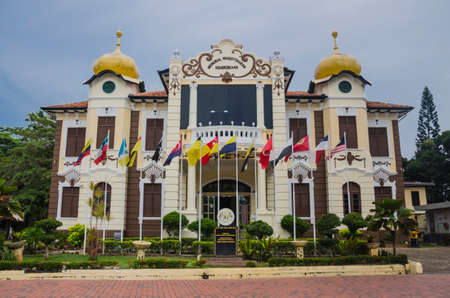 proclamation: MALACCA, MALAYSIA - MAY 11, 2014: Proclamation of Independence Memorial. Malacca City is the capital city of the Malaysian state of Malacca. It was listed as UNESCO World Heritage Site on 14 May 2014