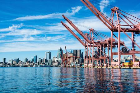 Seattle Waterfront Zdjęcie Seryjne