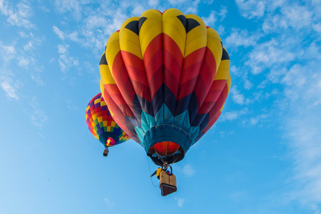 Every Fall, dozens of hot air balloons gather in Eastern Washington for three days of ballooning and harvest festival