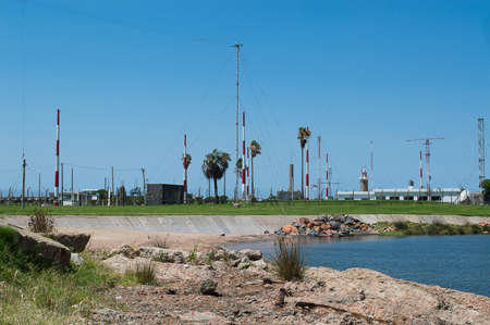 naval base on the coast in Montevideo, Uruguay