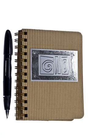 Image of Notebook and Pen