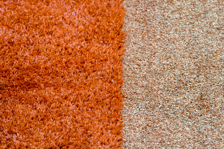 Texture of the herb cover sports field. Used in tennis, golf, baseball, field hockey, football, cricket, rugby. New field and old