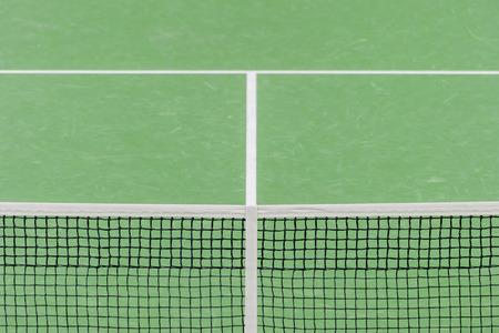Sport active lifestyle concept. Closeup net for a tennis Stok Fotoğraf