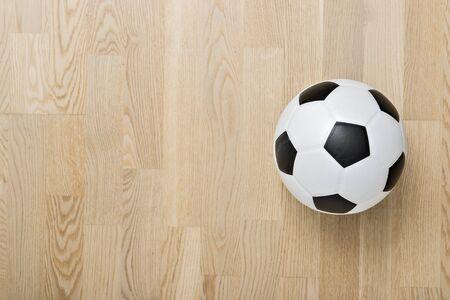 Futsal Background. Indoor Soccer Futsal Ball. Team sport.