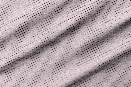 Grey football, basketball, volleyball, hockey, rugby, lacrosse and handball jersey clothing fabric texture sports wear background