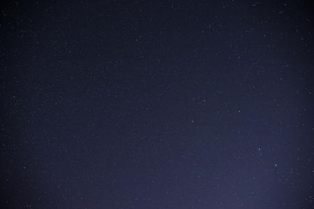 starry night: Beautiful milky way on a dark night sky with stars.