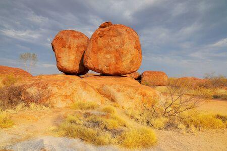Devils Marbles National Park, Northern Territory, Australia. Reklamní fotografie