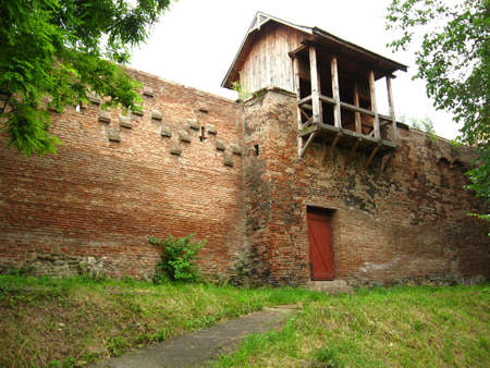 Old fortification of a medieval city Stock Photo - 435927