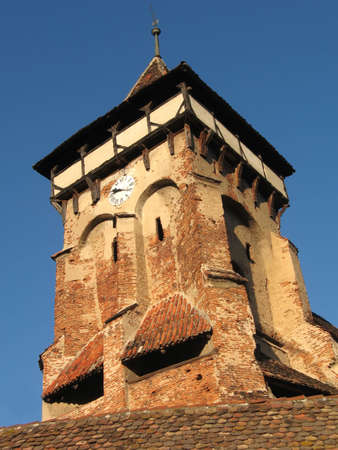 Old tower of a church Stock Photo - 566746