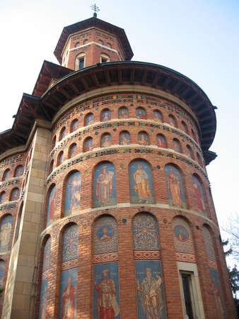 Traditional orthodox church from Iasi, Romania Stock Photo