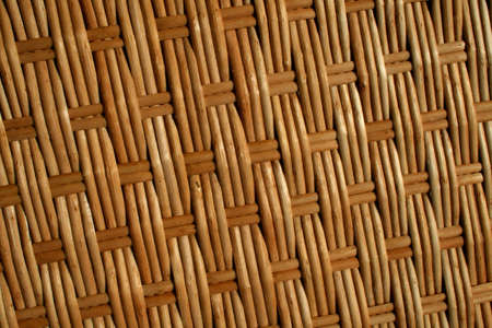 wickerwork: Background texture - natural wickerwork handmade