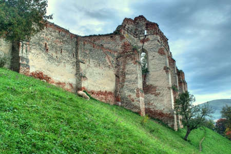 Old fortress in ruin on a hill Stock Photo - 1789373