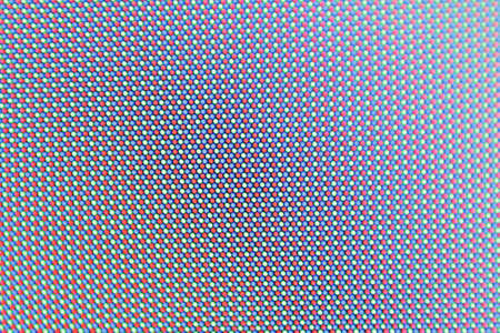 Screen leds in macro view on a tft panel photo