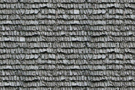 Gray old tiles on a wooden roof in countryside Stock Photo - 4819973