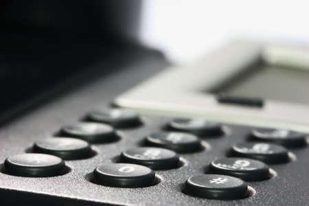 Internet VOIP Phone, key pad Stock Photo