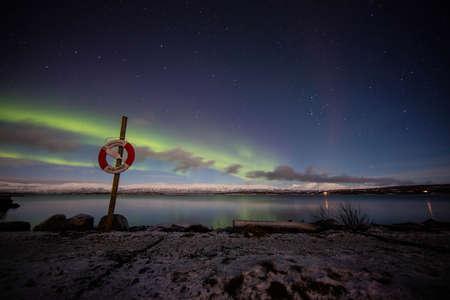 aurora: Beach aurora