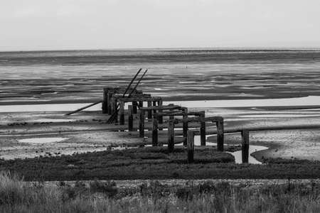struts: Old pier struts