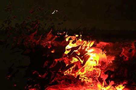 poele bois: des flammes du po�le � bois