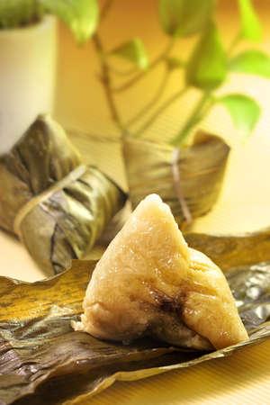 dumpling: Cantonese White Glutinous Rice Dumpling