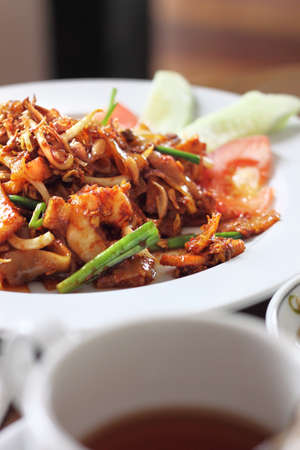 Penang fried kway teow with prawn