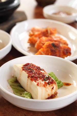 Korean tofu Stock Photo