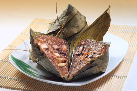 Traditional Rice Dumpling Stock Photo
