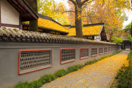 yanhuachi garden was built in the Tang Dynasty