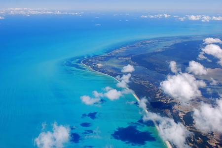 carribean: Coast of Mexico with the Carribean sea Stock Photo