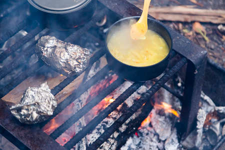 backcountry: Campers Backcountry Meal