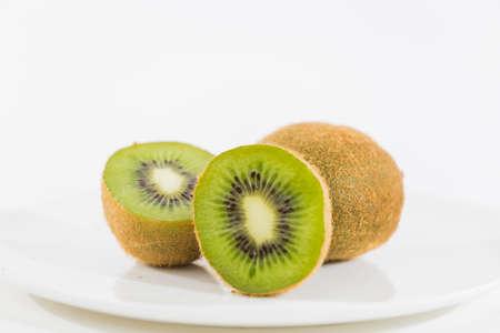 halved  half: Fresh Kiwi Fruit