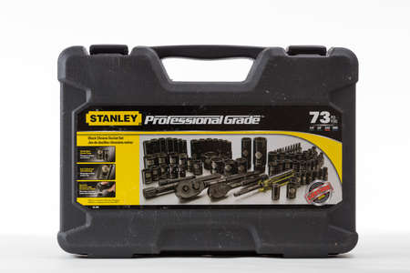 socket wrench: Socket Wrench Set for Professional on bright background Stock Photo