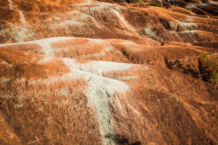 sightsee: The Cheltenham Badlands in Caledon ontario, Canada Stock Photo