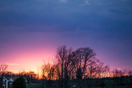 acreage: Rural Sunset View