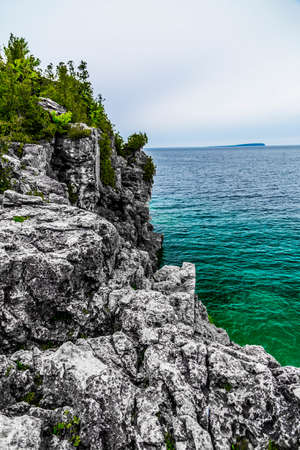 getaways: Scenic Views at the Grotto on Georgian Bay Ontario Canada Great Lakes Region