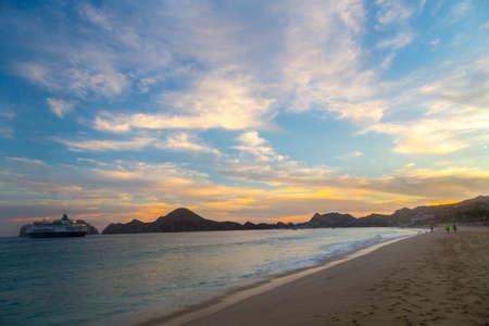 pacific ocean: The Pacific Ocean in Cabo San Lucas Mexico