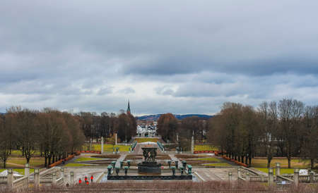 northern european: View in a Northern European City Stock Photo