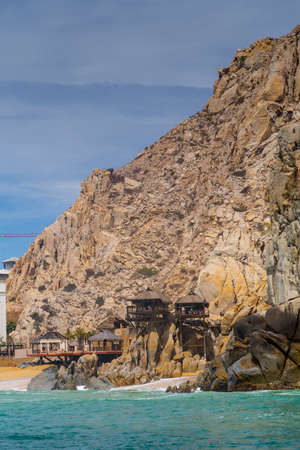 baja california: The Rock Formation of Lands End, Baja California Sur, Mexico, near Cabo San Lucas
