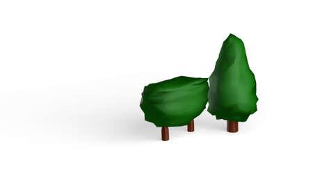 in a 3D Illustration
