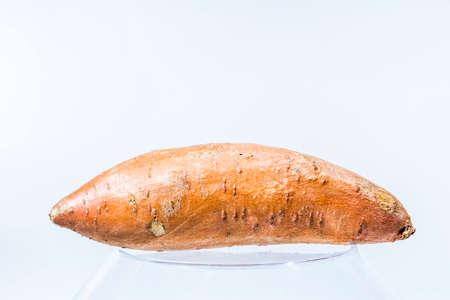 batata: La patata dulce en el fondo brillante Foto de archivo