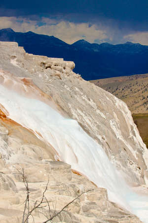 national park: yellowstone national park view Stock Photo