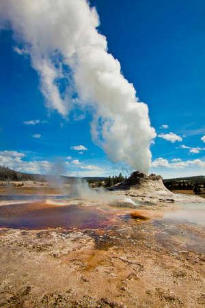 geothermal: geothermal geyser activity