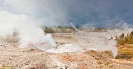 geothermal geyser activity Фото со стока - 57875502