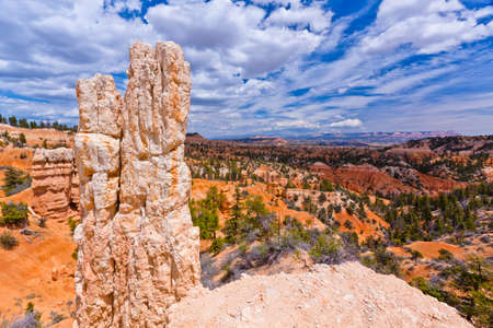 bryce: scenic view of bryce canyon in utah Stock Photo