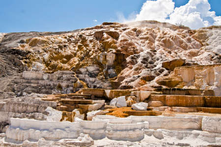 yellowstone: yellowstone national park view Stock Photo