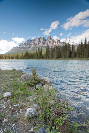banff national park: scenic view of Banff National park in Canada