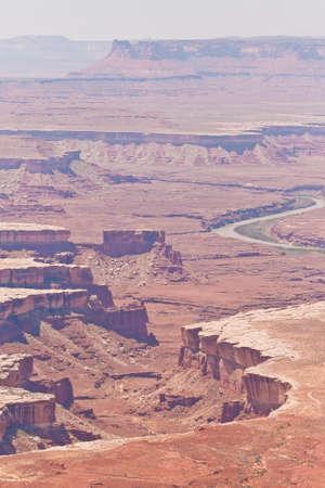 canyonlands: overlooking canyonlands national park Stock Photo